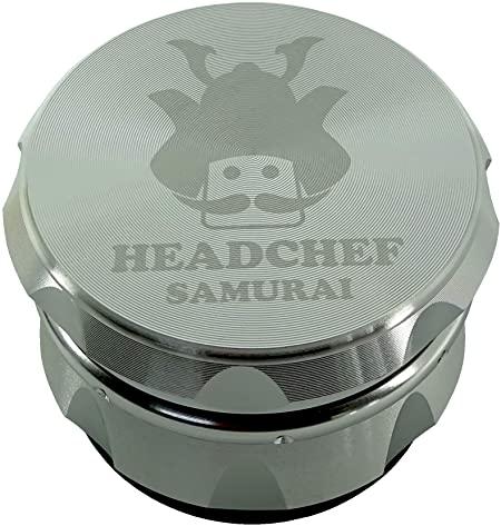 Headchef Samurai Grinder 55mm 4 Part - Silver