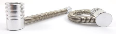 Twister Pipe - Silver