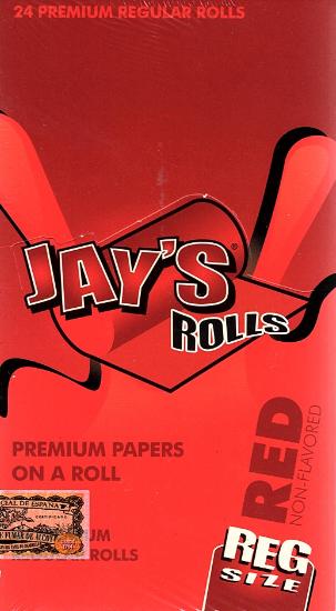 Juicy Jays Rolls - Regular Size RED