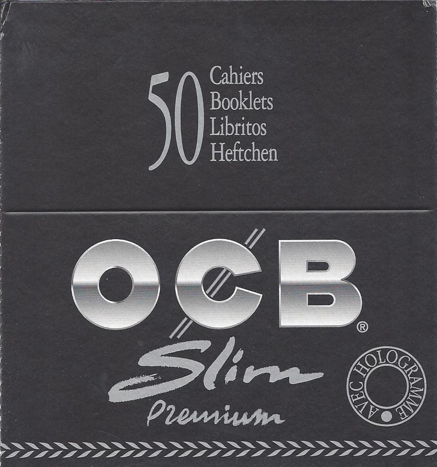 OCB Premium Black King Size Slim