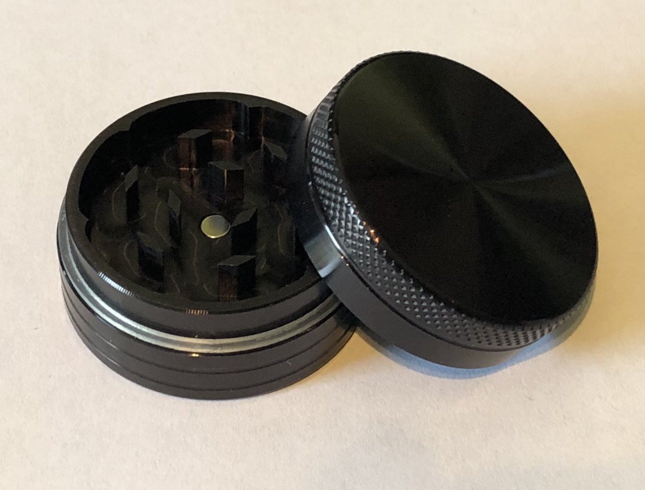 SPF Grinder 40mm 2 Part - Black