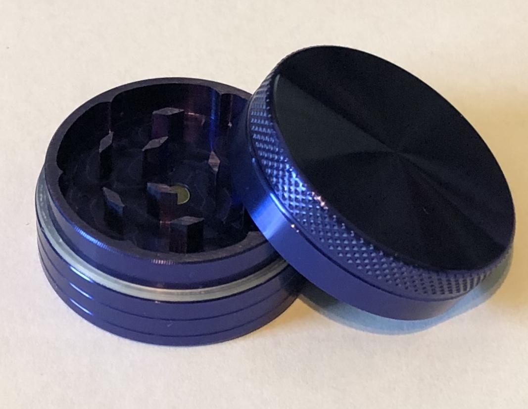 SPF Grinder 40mm 2 Part - Blue
