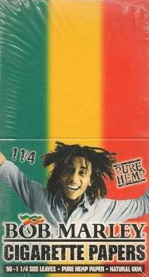 Bob Marley Pure Hemp 1.25 Size