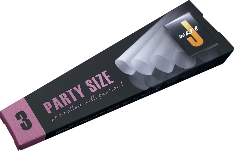 Jware Party Size Cone  3 Pack