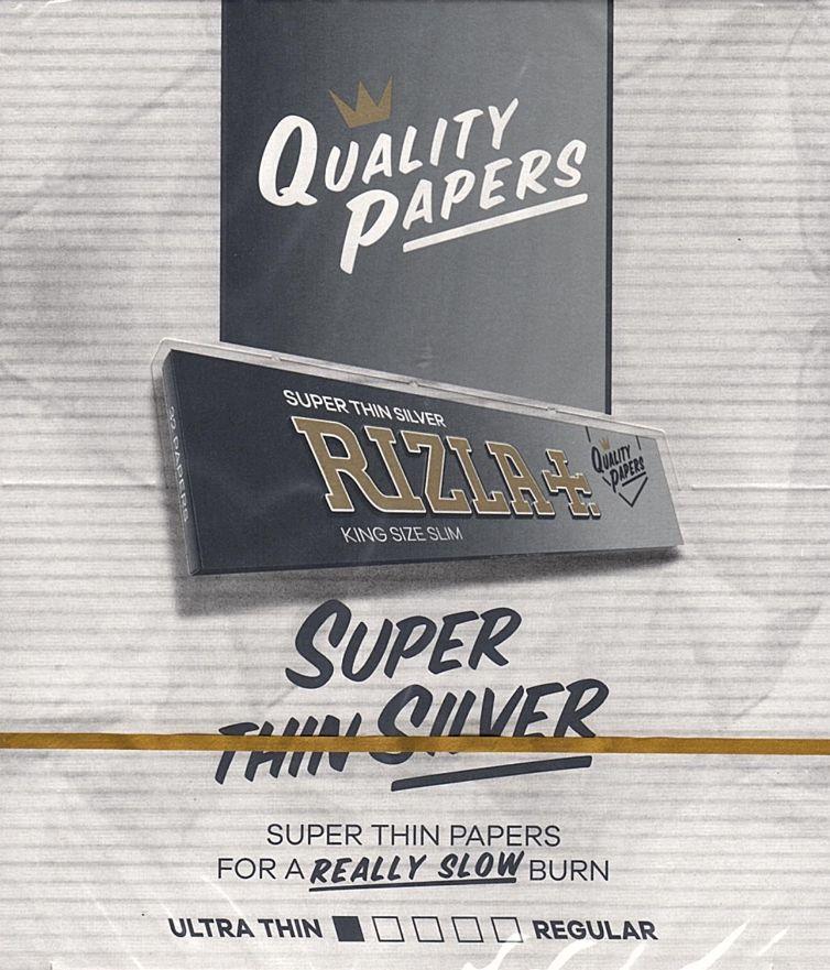 Rizla Silver King Size Slim