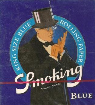 Smoking Blue King Size