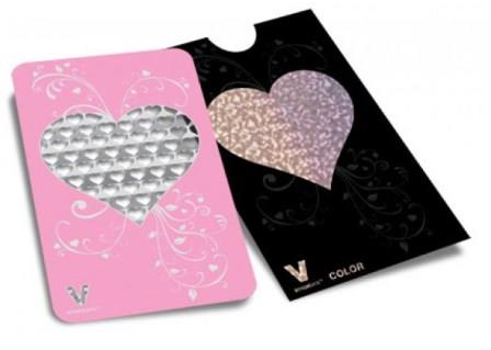 V-Syndicate Grater Card - Heart