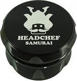 Headchef Samurai Grinder 55mm 4 Part - Black