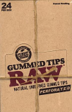 Raw Unrefined Gummed Tips
