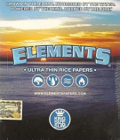 Elements Ultra Thin Rice Papers King Size Slim