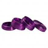 Ripple Grinder 63mm 4 Part - Purple