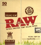 Raw Organic Hemp King Size Slim