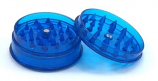 Plastic Grinder 60mm 3 Part - Blue