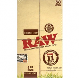 Raw Organic Hemp 1.25 Size