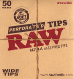 Raw Natural Refined Tips - Extra Wide