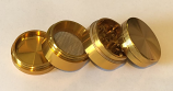 SPF Grinder 40mm 4 Part - Gold