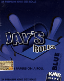 Juicy Jays Rolls - King Size BLUE