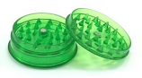 Plastic Grinder 60mm 3 Part - Green