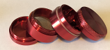 SPF Grinder 40mm 4 Part - Red