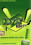 Juicy Jays Rolls - Slim Size GREEN